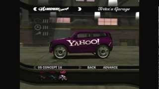 All 20 Midway Concept Cars of L.A. Rush [3D] [HD]