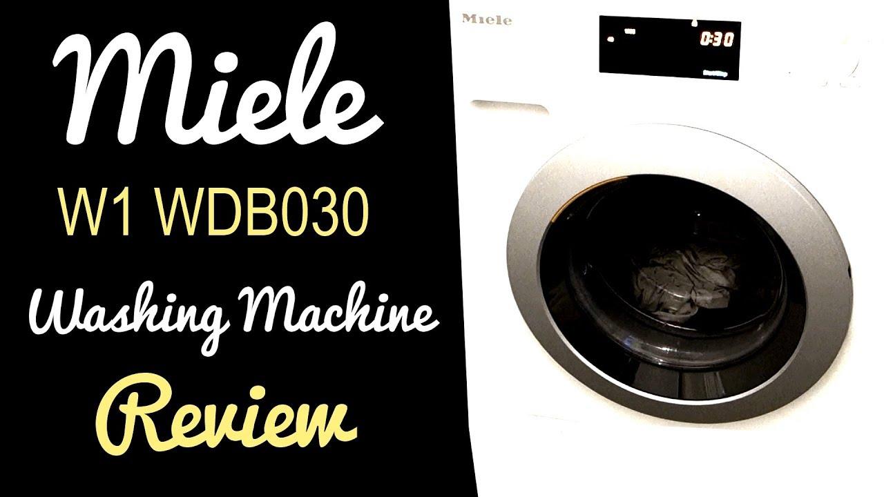 Miele W1 WDB030 Washing Machine Review - Oh So Girly!