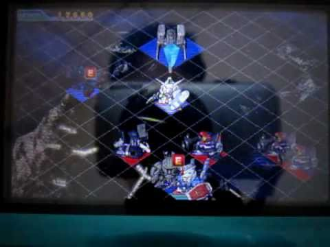 SD Gundam G Generation 3D ソロモンの悪夢 EX Mission Area A route
