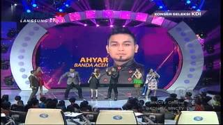 "Ahyar "" Penyakit Cinta ""  Aceh - Konser Seleksi KDI 2015 (19/3)"