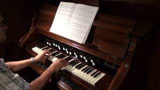 Madrigal Sonata No. 12 - Craig Penfield - Berlin Reed Organ