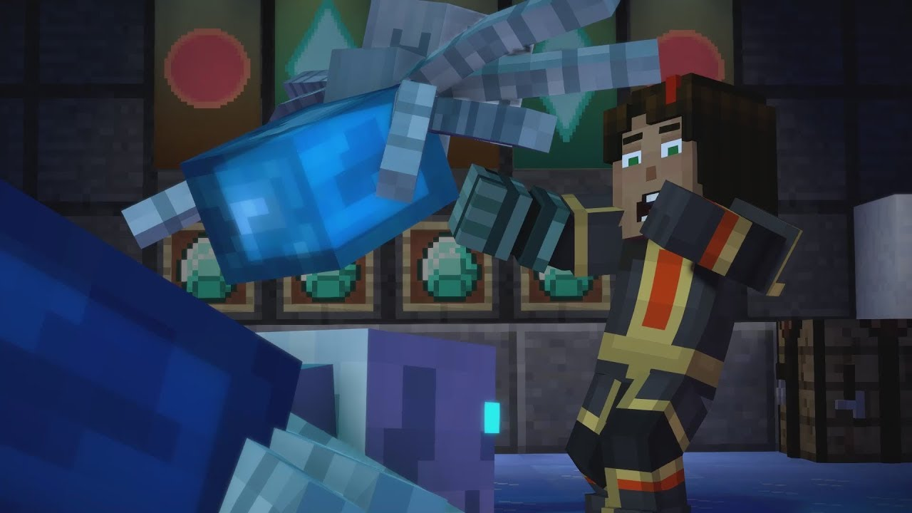 Minecraft Story Mode Season 2 All Death Scenes Episode 2 60fps