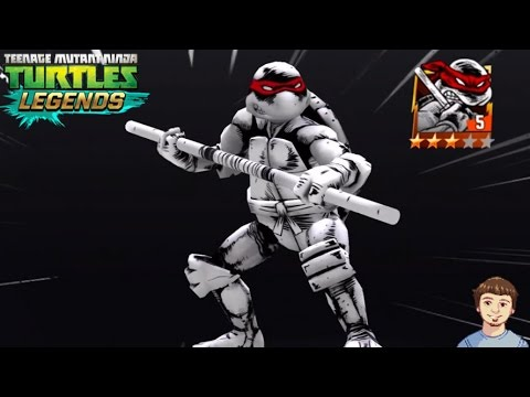 TMNT Legends - Comic Book DONATELLO (Original) Gameplay Overview!