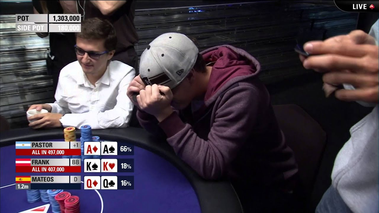 AA v KK v QQ - Crazy Poker Hand at the EPT Grand Final