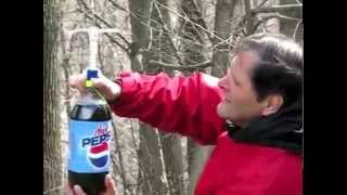 mentos and soda engine/// Homemade Science with Bruce Yeany