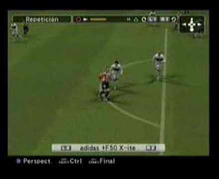 Golazo con Juagada de Yeste Pro Evolution Soccer