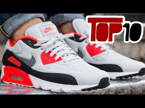 59283ad5e2c Top 10 Nike Air Max 90 Shoes Of 2016 - YouTube