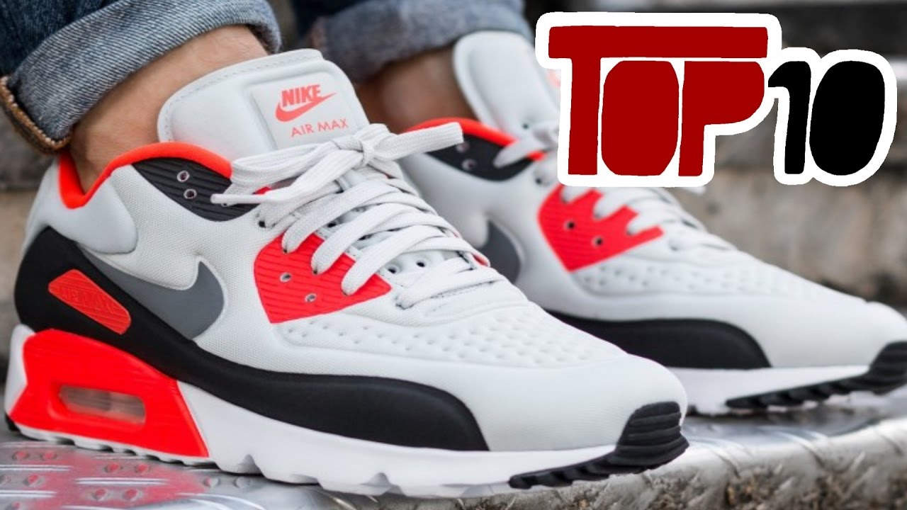 8104b1badc52 Top 10 Nike Air Max 90 Shoes Of 2016 - YouTube