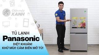 Tủ lạnh Panasonic Inverter 255 lít: Diệt khuẩn! Cảm biến thông minh (NR-BV289QSV2) | Điện máy XANH