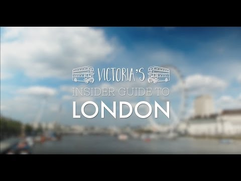 Victoria's Insider Guide to London - Episode 2: The Best Places to Instagram in London