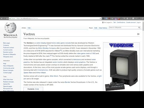 Vectrex Programming with Forth - Part 1
