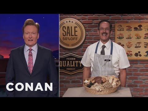 Business Is Booming At Mushroom Dick's  - CONAN on TBS