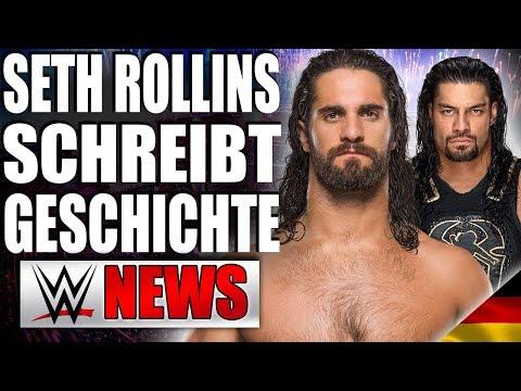 Rollins schreibt Geschichte bei RAW, Wettquoten für EC, NXT CallUps | WWE NEWS 14/2018
