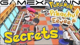 Pokémon Let's Go Pikachu & Eevee Celadon City SECRETS! (Game Freak Offices, Pokkén, Brock, & More!)