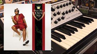 "Bruno Mars - ""24K Magic"" Synth Bass Cover (Moog Sub Phatty)"