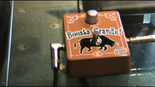 a review of the boosta grande pedal by bbe