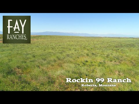 SOLD | Montana Hay Ground Land For Sale | MT Hunting Property | Rockin 99 Ranch | Roberts, MT