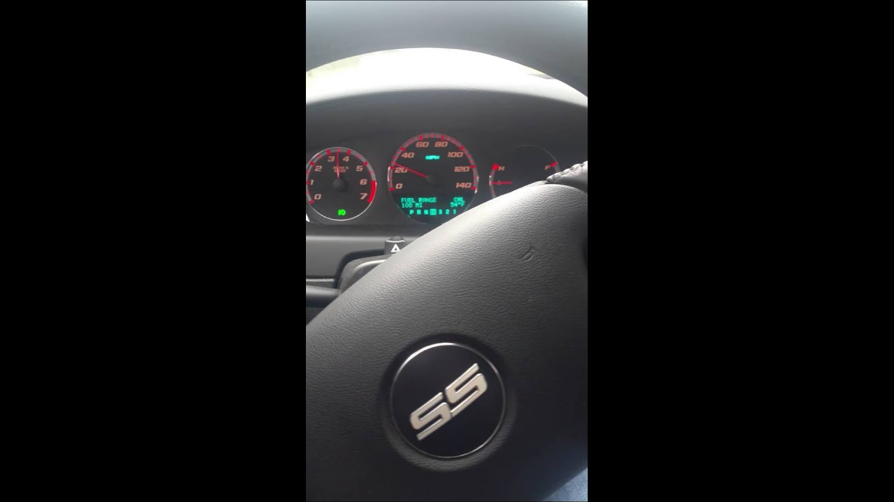 2008 Chevy Impala SS 5.3L 0 to 60 mph - YouTube