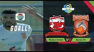 Download Video Goal Renan da Silva - Madura United (0) vs (1) Borneo FC | Go-Jek Liga 1 Bersama Bukalapak MP3 3GP MP4