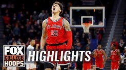St. John's holds off No. 16 Arizona 70-67 behind 21 from LJ Figueroa   FOX COLLEGE HOOPS HIGHLIGHTS