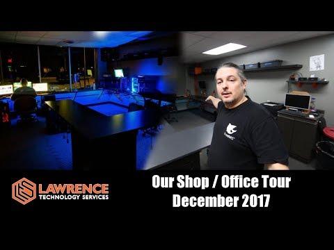 Our Shop / Office Tour December 2017