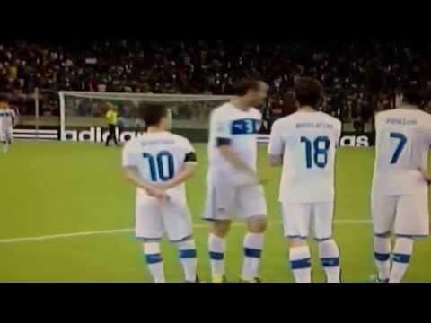 Candreva Penalty Amazing  Spain - Italy