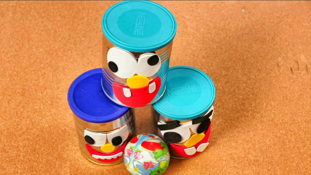 Manualidades para Ni?os Latas Decoradas DIY Videos Infantiles ...