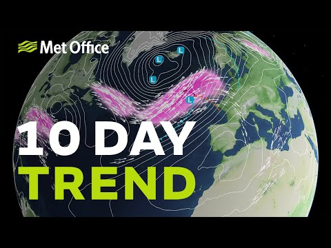 10 Day Trend – When Will The Gloom Lift And Will The Rain Return? 22/01/20