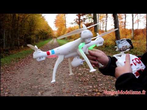 Дрон Syma X8W Explorers с безжична камера и предаване в реално време 22