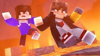 Minecraft: NOOB VS. PRO - IMPOSSIVEL PULAR SOBRE A LAVA  - ‹ JUAUM ›
