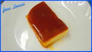 PUDIM DE PADARIA SEM LEITE CONDENSADO