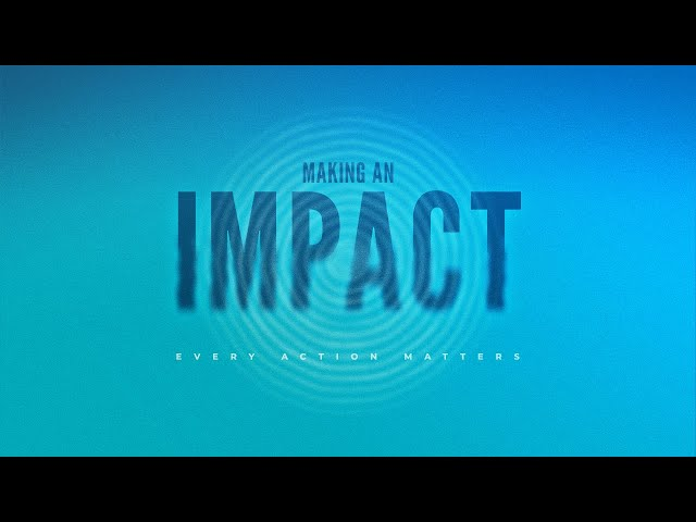 Flagstone Live | Making an Impact with My Giving