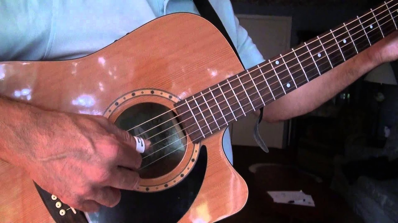 Fingerstyle Guitar Morning Has Broken Voicing C F And G Chords