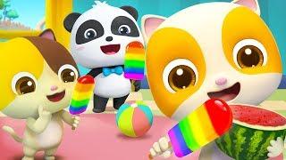 Colorful Vegetables Song   Colors Song   Nursery Rhymes   Kids Songs   Kids Cartoon   BabyBus