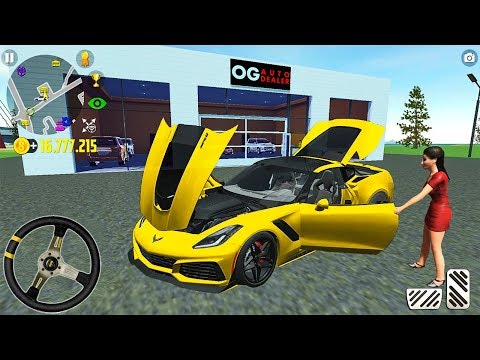 New C8 Corvette Car Driving Simulator - Sport Car Corvette - Android Gameplay