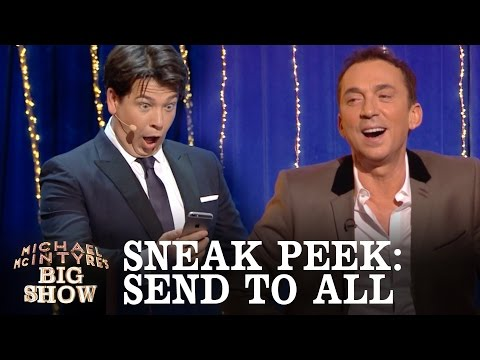 SNEAK PEEK: Send To All with Bruno Toniolli - Michael McIntyre's Big Show: Episode 4 - BBC One