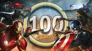 Первый мститель 3: Противостояние - Обзор за 100 секунд