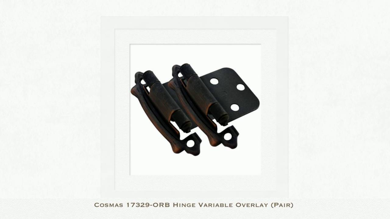 Cosmas Hinges Variable Overlay (Pair)