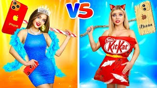 RICH vs POOR Fashion Girl || Compare Models on a Fashion Show at School! Battle by RATATA BOOM
