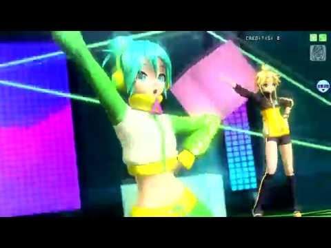 【Project DIVA Arcade FT】Hatsune Miku, Len, Rin Kagamine【shake it!】