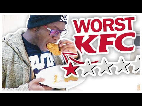 TRYING THE WORST REVIEWED KFC