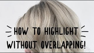 HOW TO HIGHLIGHT WITHOUT OVERLAPPING