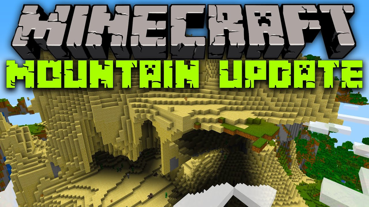 Minecraft 1.17 Release Date! (Mountain Update) - YouTube