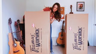 double guitar unboxing!!