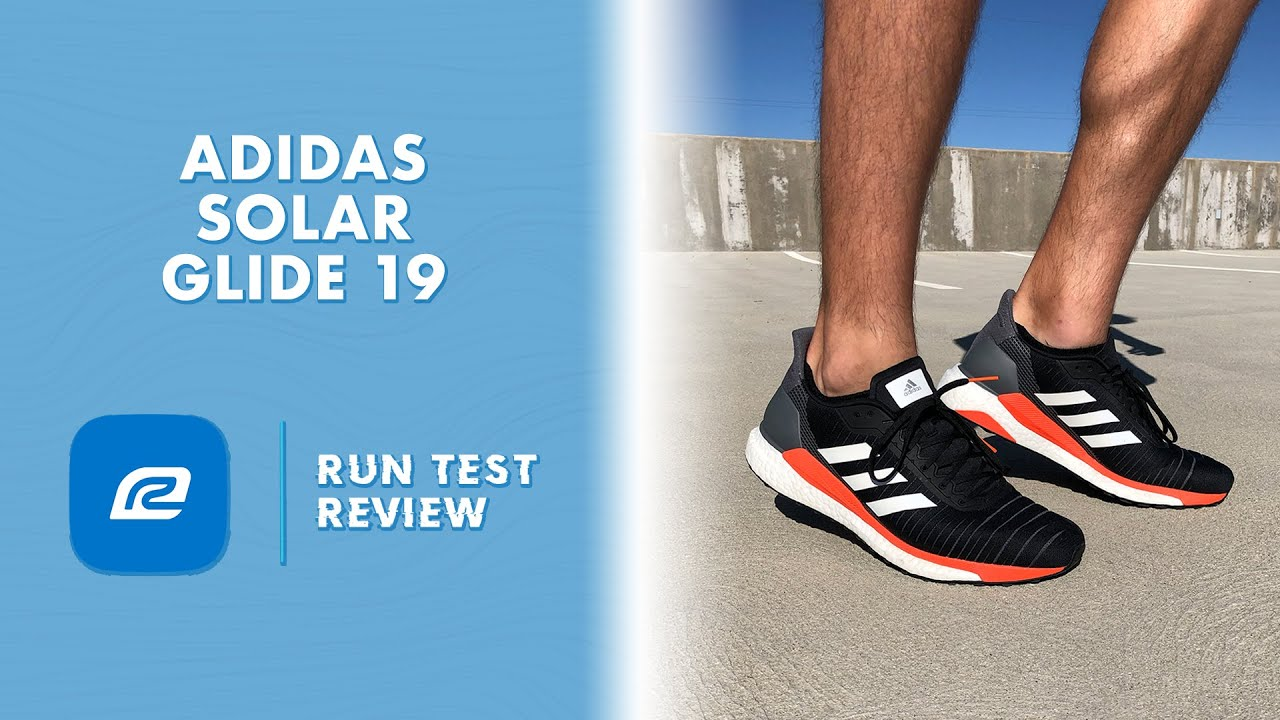 Adidas Solar Glide 19 Run Test Review | Shoe Review | BEST MID DISTANCE  RUNNER