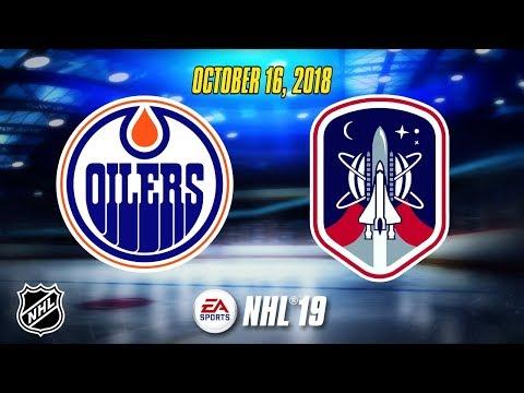 NHL® 19 Season | Edmonton Oilers v.s. Houston Cosmos