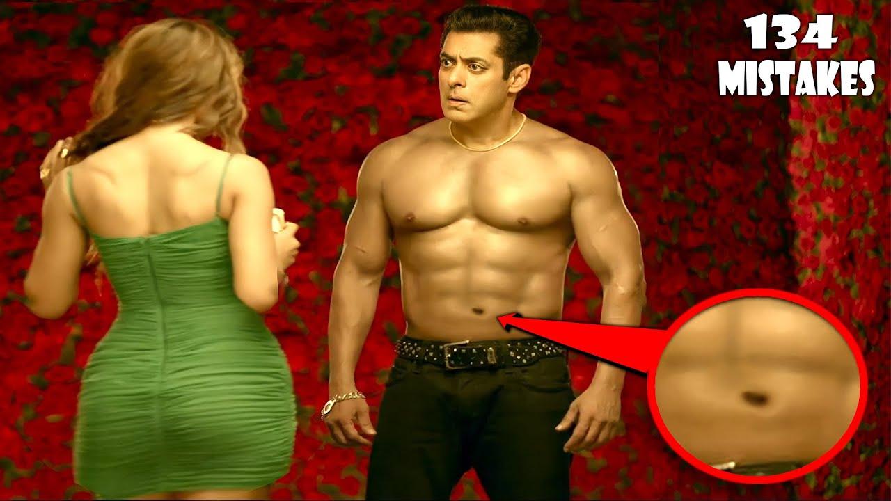 "Download (134 Mistakes)  In RADHE - Plenty Mistakes In ""RAHDE"" Full Hindi Movie | Salman Khan | Filmy Sins"