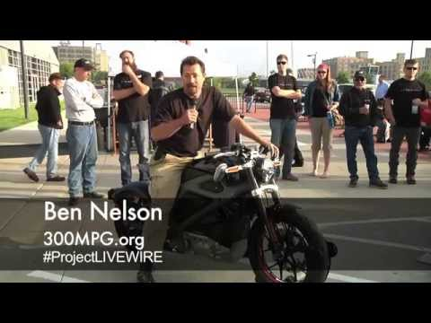 Harley-Davidson Project LiveWire Electric Motorcycle Reveal At Harley Museum
