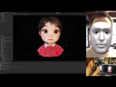 Windup character facial capture using Unity and IPhone X
