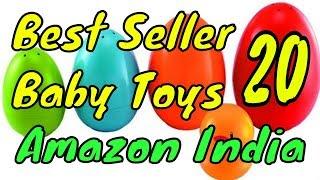 20 Bestseller Baby Toys on Amazon India July 2018
